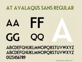 AT Avalaqus Sans