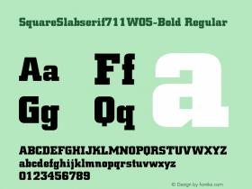 SquareSlabserif711W05-Bold