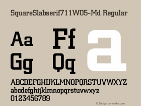 SquareSlabserif711W05-Md