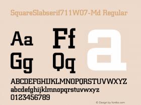 SquareSlabserif711W07-Md