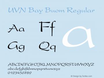 UVN Bay Buom