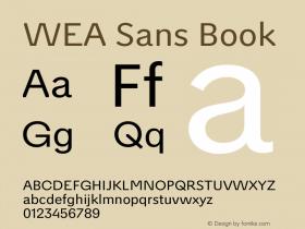 WEA Sans