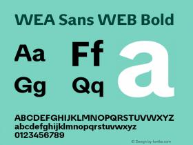 WEA Sans WEB