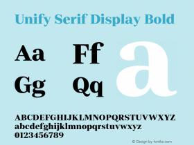 Unify Serif