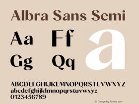 Albra Sans