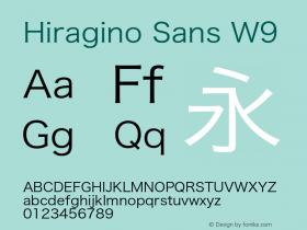 Hiragino Sans