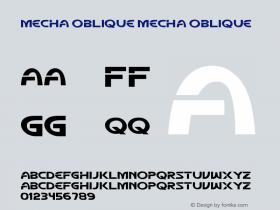 Mecha Oblique