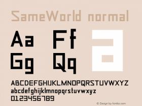 SameWorld