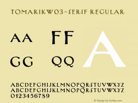 TomarikW03-Serif