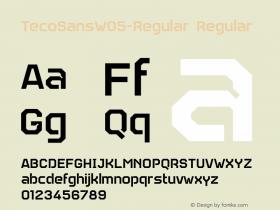 TecoSansW05-Regular
