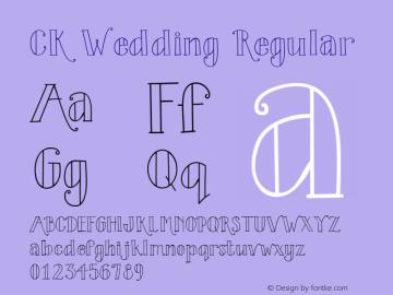 CK Wedding