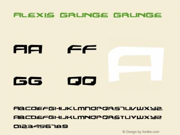 Alexis Grunge