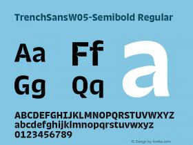 TrenchSansW05-Semibold