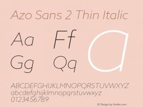 Azo Sans 2