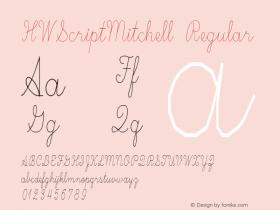 HWScriptMitchell