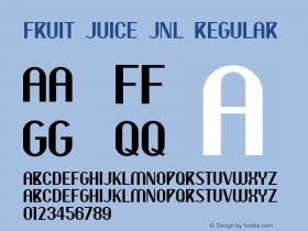 Fruit Juice JNL