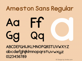 Ameston Sans