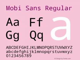 Mobi Sans
