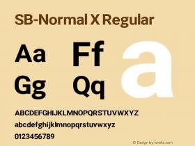 SB-Normal X
