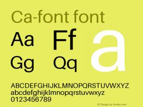 Ca-font