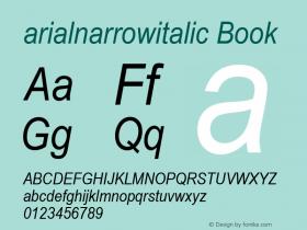 arialnarrowitalic