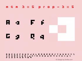 mem 3x5