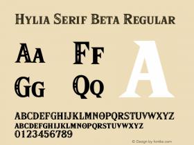 Hylia Serif Beta