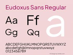 Eudoxus Sans