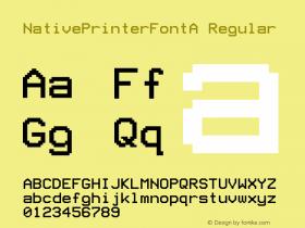 NativePrinterFontA