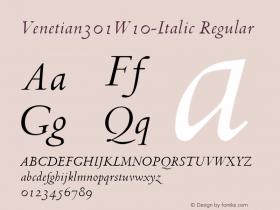 Venetian301W10-Italic