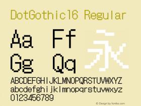 DotGothic16