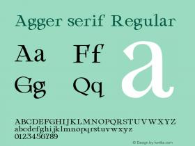 Agger serif