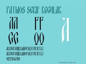 Patmos serif