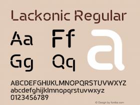 Lackonic