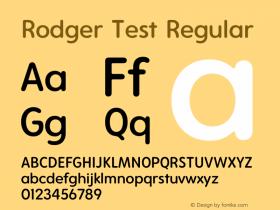 Rodger Test