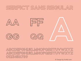 Serfict Sans