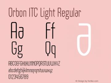 Orbon ITC Light
