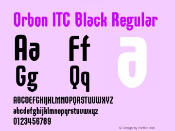 Orbon ITC Black