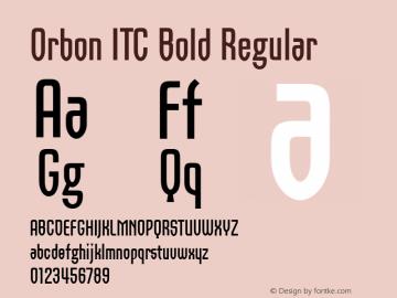 Orbon ITC Bold