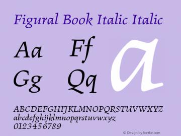 Figural Book Italic