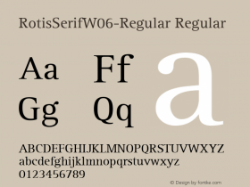 RotisSerifW06-Regular