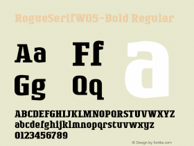 RogueSerifW05-Bold