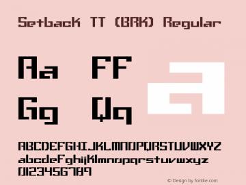 Setback TT (BRK)