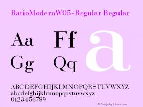 RatioModernW05-Regular