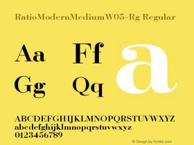 RatioModernMediumW05-Rg