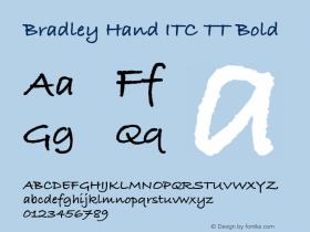 Bradley Hand ITC TT