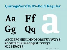 QuirogaSerifW05-Bold