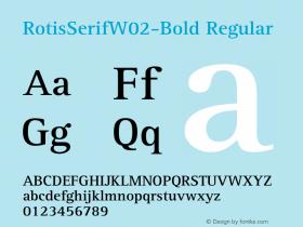 RotisSerifW02-Bold