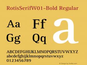 RotisSerifW01-Bold