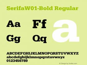SerifaW01-Bold